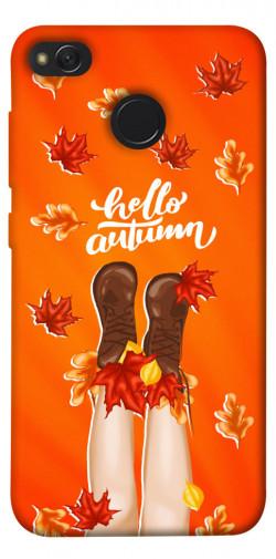 Чехол itsPrint Hello autumn для Xiaomi Redmi 4X