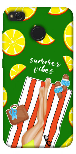 Чехол itsPrint Summer girl для Xiaomi Redmi 4X