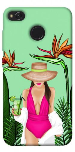 Чехол itsPrint Tropical girl для Xiaomi Redmi 4X
