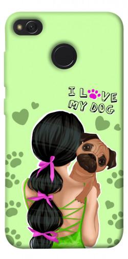 Чехол itsPrint Love my dog для Xiaomi Redmi 4X