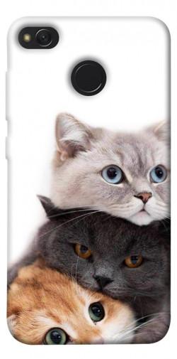 Чехол itsPrint Три кота для Xiaomi Redmi 4X