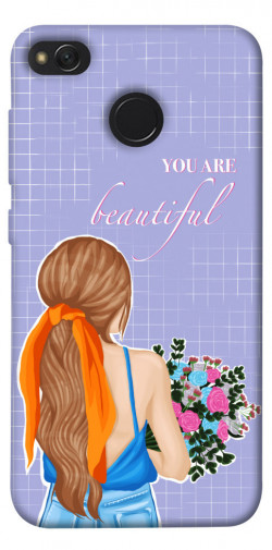 Чехол itsPrint You are beautiful для Xiaomi Redmi 4X