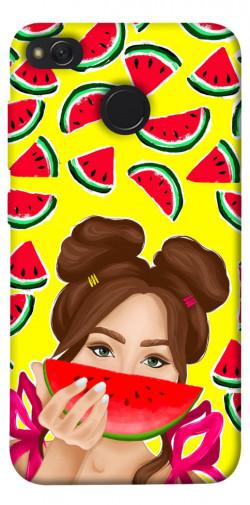 Чехол itsPrint Watermelon girl для Xiaomi Redmi 4X