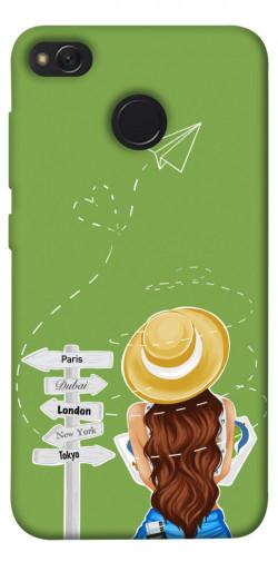 Чехол itsPrint Travel girl для Xiaomi Redmi 4X