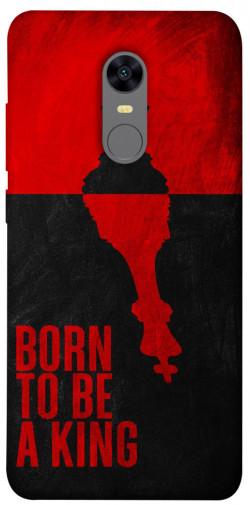 Чехол itsPrint Born to be a king для Xiaomi Redmi 5 Plus / Redmi Note 5 (Single Camera)