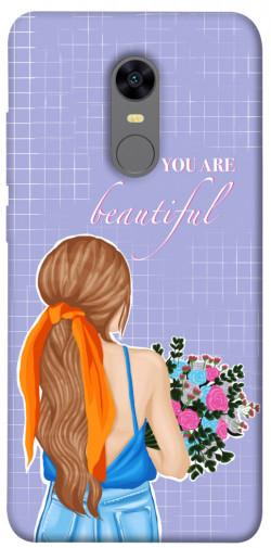 Чехол itsPrint You are beautiful для Xiaomi Redmi 5 Plus / Redmi Note 5 (Single Camera)