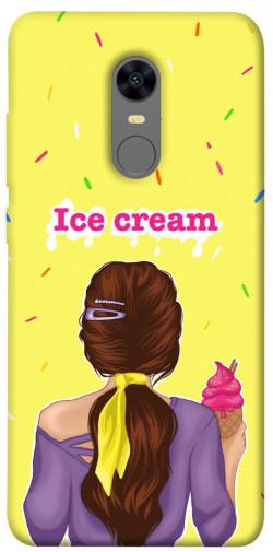 Чехол itsPrint Ice cream girl для Xiaomi Redmi 5 Plus / Redmi Note 5 (Single Camera)
