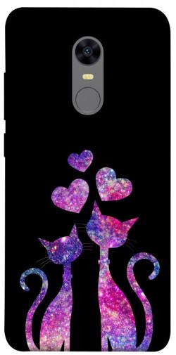 Чехол iPrint Космические коты для Xiaomi Redmi 5 Plus / Redmi Note 5 (Single Camera)