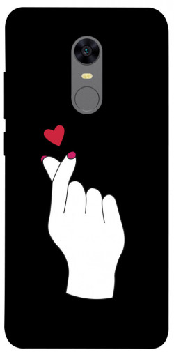 Чехол iPrint Сердце в руке для Xiaomi Redmi 5 Plus / Redmi Note 5 (Single Camera)