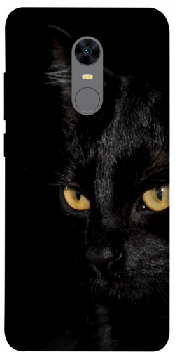 Чехол itsPrint Черный кот для Xiaomi Redmi 5 Plus / Redmi Note 5 (Single Camera)