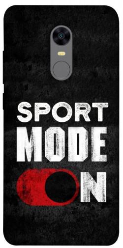 Чехол itsPrint Sport mode on для Xiaomi Redmi 5 Plus / Redmi Note 5 (Single Camera)