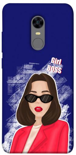 Чехол itsPrint Girl boss для Xiaomi Redmi 5 Plus / Redmi Note 5 (Single Camera)