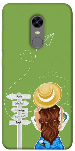 Чехол itsPrint Travel girl для Xiaomi Redmi 5 Plus / Redmi Note 5 (Single Camera)