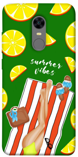 Чехол itsPrint Summer girl для Xiaomi Redmi 5 Plus / Redmi Note 5 (Single Camera)