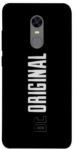 Чехол itsPrint Be original для Xiaomi Redmi 5 Plus / Redmi Note 5 (Single Camera)