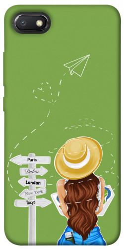 Чехол itsPrint Travel girl для Xiaomi Redmi 6A