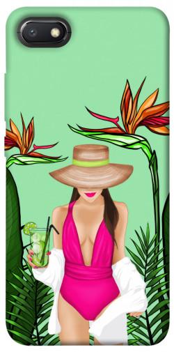 Чехол itsPrint Tropical girl для Xiaomi Redmi 6A