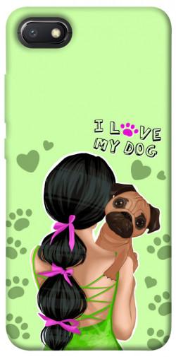 Чехол itsPrint Love my dog для Xiaomi Redmi 6A
