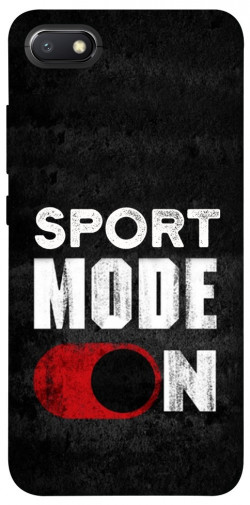 Чехол itsPrint Sport mode on для Xiaomi Redmi 6A