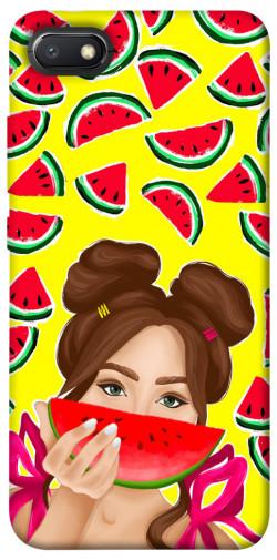 Чехол itsPrint Watermelon girl для Xiaomi Redmi 6A