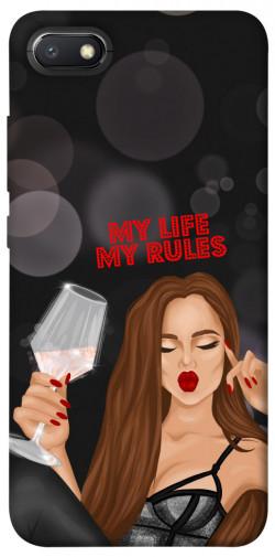 Чехол itsPrint My life my rules для Xiaomi Redmi 6A