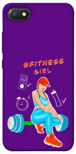 Чехол itsPrint Fitness girl для Xiaomi Redmi 6A
