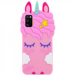 Уценка Силиконовая накладка 3D Little Unicorn для Samsung Galaxy A41