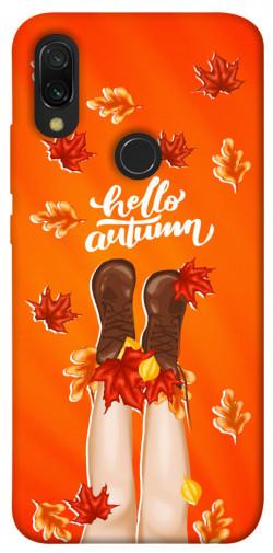 Чехол itsPrint Hello autumn для Xiaomi Redmi 7