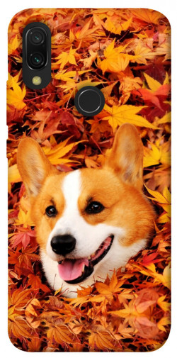 Чехол itsPrint Корги в листьях для Xiaomi Redmi 7