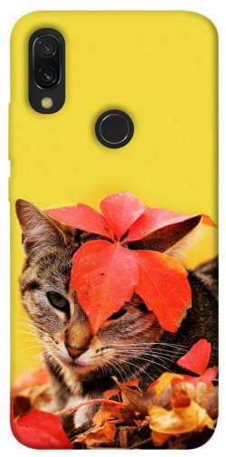 Чехол itsPrint Осенний котик для Xiaomi Redmi 7