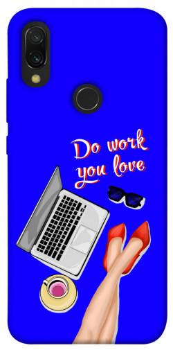 Чехол itsPrint Do work you love для Xiaomi Redmi 7