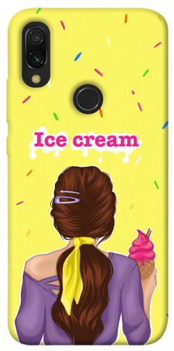 Чехол itsPrint Ice cream girl для Xiaomi Redmi 7