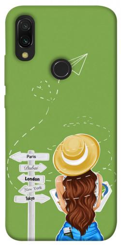 Чехол itsPrint Travel girl для Xiaomi Redmi 7