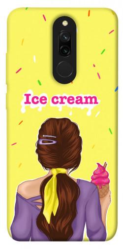 Чехол itsPrint Ice cream girl для Xiaomi Redmi 8