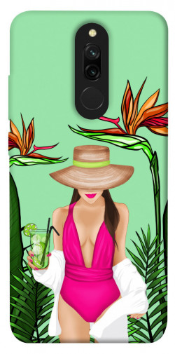 Чехол itsPrint Tropical girl для Xiaomi Redmi 8