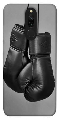 Чехол itsPrint Черные боксерские перчатки для Xiaomi Redmi 8