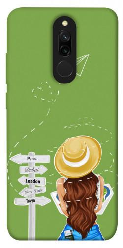 Чехол itsPrint Travel girl для Xiaomi Redmi 8