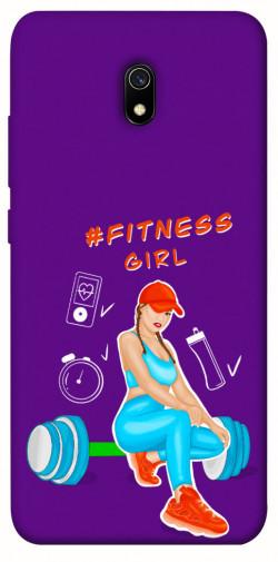 Чехол itsPrint Fitness girl для Xiaomi Redmi 8a