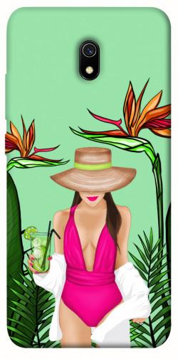 Чехол itsPrint Tropical girl для Xiaomi Redmi 8a
