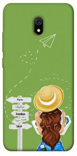 Чехол itsPrint Travel girl для Xiaomi Redmi 8a
