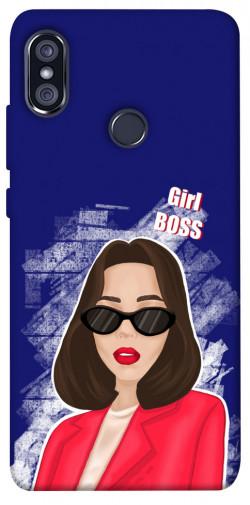 Чехол itsPrint Girl boss для Xiaomi Redmi Note 5 Pro / Note 5 (AI Dual Camera)