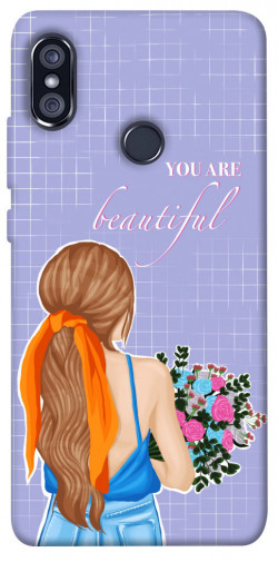 Чехол itsPrint You are beautiful для Xiaomi Redmi Note 5 Pro / Note 5 (AI Dual Camera)