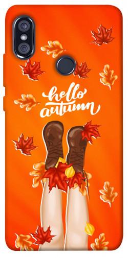Чехол itsPrint Hello autumn для Xiaomi Redmi Note 5 Pro / Note 5 (AI Dual Camera)