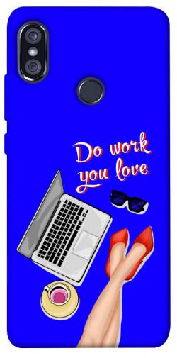 Чехол itsPrint Do work you love для Xiaomi Redmi Note 5 Pro / Note 5 (AI Dual Camera)