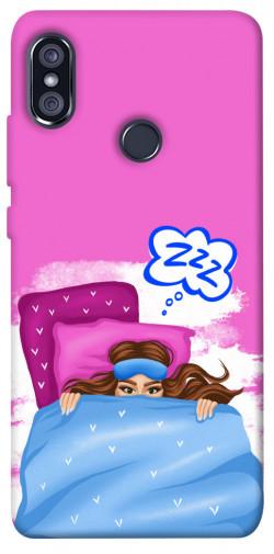 Чехол itsPrint Sleepу girl для Xiaomi Redmi Note 5 Pro / Note 5 (AI Dual Camera)