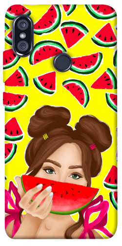 Чехол itsPrint Watermelon girl для Xiaomi Redmi Note 5 Pro / Note 5 (AI Dual Camera)