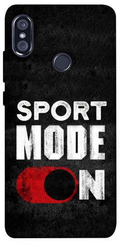 Чехол itsPrint Sport mode on для Xiaomi Redmi Note 5 Pro / Note 5 (AI Dual Camera)