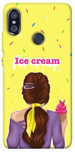 Чехол itsPrint Ice cream girl для Xiaomi Redmi Note 5 Pro / Note 5 (AI Dual Camera)