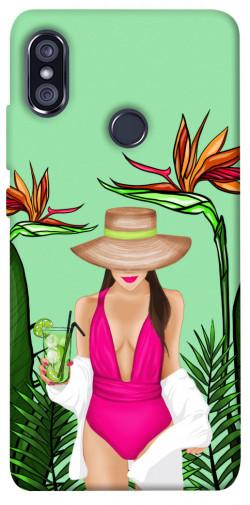 Чехол itsPrint Tropical girl для Xiaomi Redmi Note 5 Pro / Note 5 (AI Dual Camera)