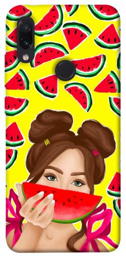 Чехол itsPrint Watermelon girl для Xiaomi Redmi Note 7 / Note 7 Pro / Note 7s